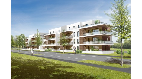 Appartement neuf Résidence Azur investissement loi Pinel à Sierentz
