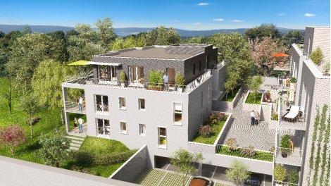 Appartement neuf Les Demeures d'Henriville éco-habitat à Amiens