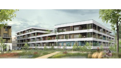 Appartement neuf La Canopee éco-habitat à Amiens