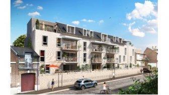 Appartements neufs Les Demeures d'Henriville éco-habitat à Amiens