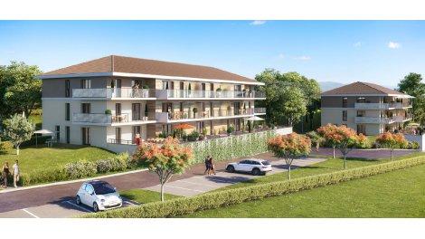 Appartement neuf Le Saint Thomas investissement loi Pinel à Evian-les-Bains