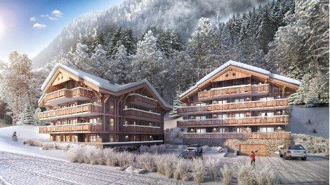 Appartement neuf Les Chalets de Montriond éco-habitat à Montriond