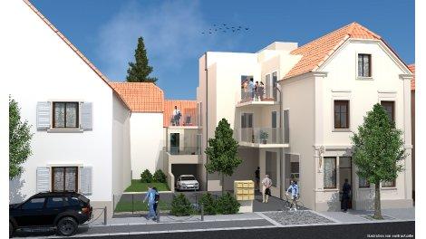 Appartement neuf Entre-2 à Riedisheim