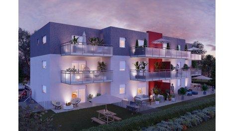Appartements neufs Floralys investissement loi Pinel à Rixheim