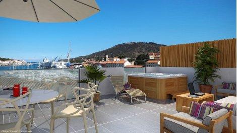Appartement neuf Costa Vermeille à Port-Vendres