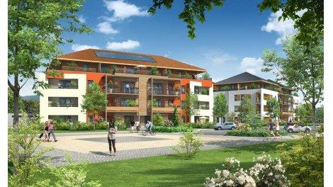 Appartement neuf Les Moulins Gaud II éco-habitat à Ville-la-Grand
