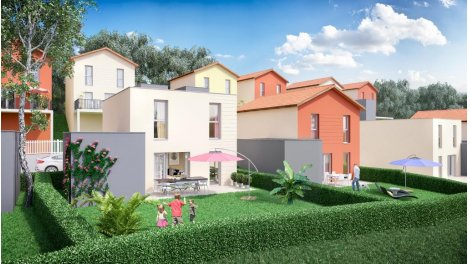 Maisons neuves Les Terrasses de Montagny éco-habitat à Tarare