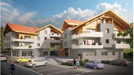 Appartement neuf Perspective éco-habitat à Saint-Paul-en-Chablais