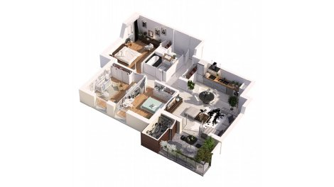 immobilier basse consommation à Maubec