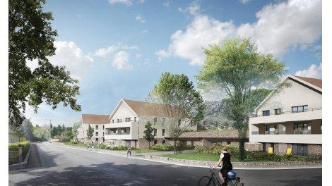 eco habitat neuf à Morestel