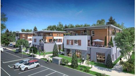 Appartement neuf La Résidence de la Rouette investissement loi Pinel à Divonne-les-Bains