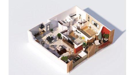 logement neuf à Montrevel-en-Bresse