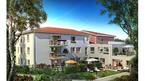 Appartement neuf Les Jardins de la Chapelle éco-habitat à Rillieux-la-Pape