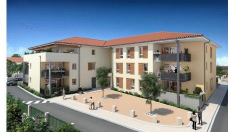 Appartement neuf Le Clos Fontaine éco-habitat à Polliat