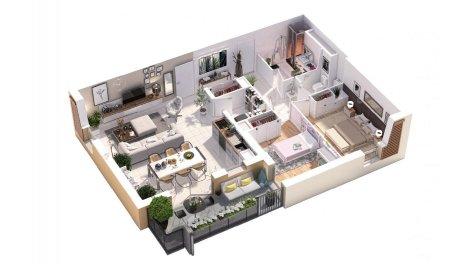 immobilier basse consommation à Polliat