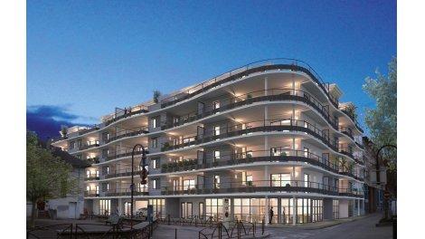 Appartement neuf Le Victor Hugo investissement loi Pinel à Bourgoin-Jallieu
