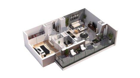 appartement neuf à Morestel