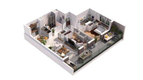logement neuf à Morestel