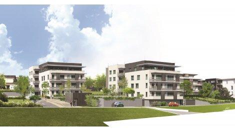 Appartement neuf Hacienda investissement loi Pinel à L'Isle-d'Abeau