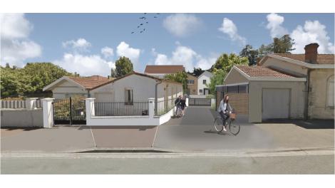 Maisons neuves Carre Solaris éco-habitat à Le Bouscat