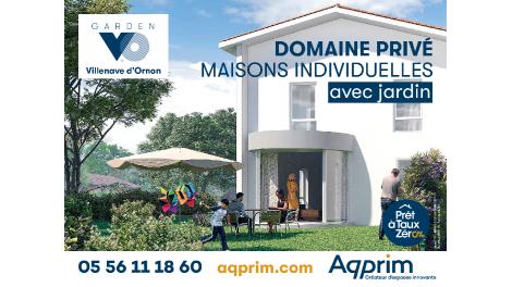 Maisons neuves Garden vo à Villenave-d'Ornon
