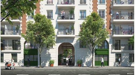 castel valois la garenne colombes programme immobilier neuf. Black Bedroom Furniture Sets. Home Design Ideas