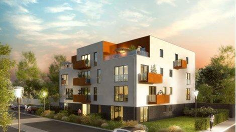 Appartement neuf Le Carre investissement loi Pinel à Annoeullin