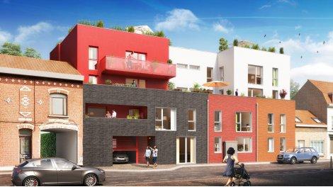 Appartement neuf Le XII investissement loi Pinel à Roncq