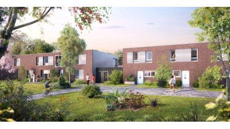 Appartements et maisons neuves Aldgate investissement loi Pinel à Roubaix