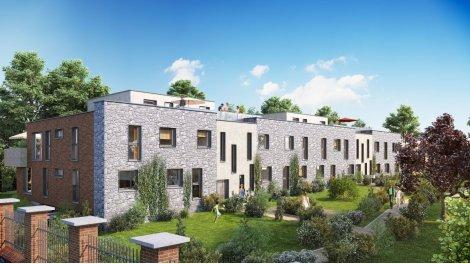 Appartement neuf Pourpre investissement loi Pinel à Villeneuve-d'Ascq