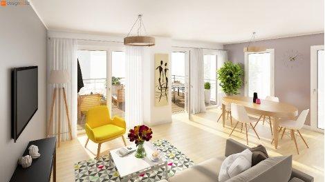 Appartements et maisons neuves Amarella investissement loi Pinel à Tours