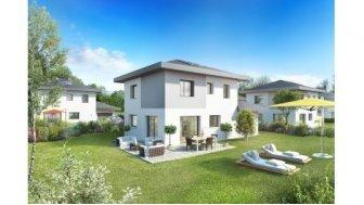 Villas neuves Les Champs d'Arvets éco-habitat à Bons-en-Chablais