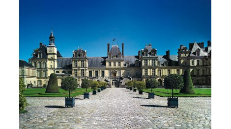Appartement neuf Passage du Château investissement loi Pinel à Fontainebleau