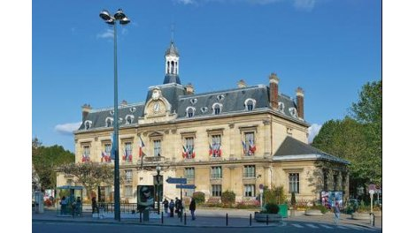 Appartement neuf Villa Pleyel investissement loi Pinel à Saint-Ouen