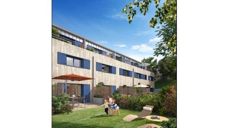 Appartements et maisons neuves Le Jardin des Dryades investissement loi Pinel à Caen