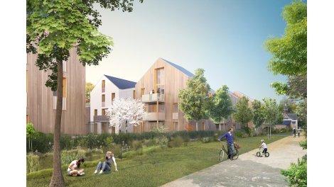 Appartement neuf Les Jardins Brunehaut éco-habitat à Senlis