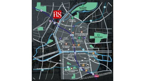 Appartement neuf Riverside à Rennes