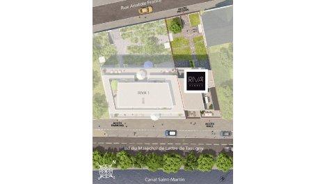 Appartement neuf Riva 2 investissement loi Pinel à Rennes