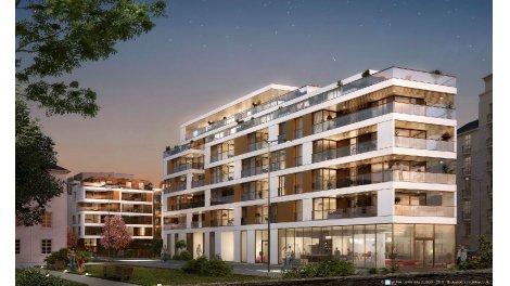 Appartement neuf Le Cipriani éco-habitat à Rennes