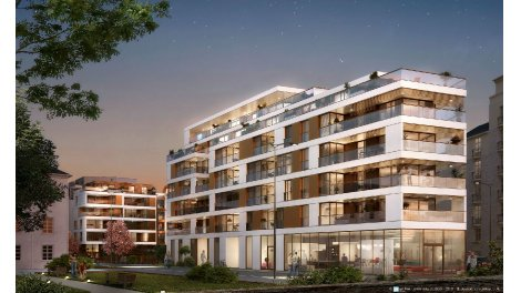 Appartement neuf Le Cipriani investissement loi Pinel à Rennes