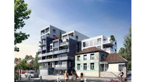 Appartement neuf Villa Gadby éco-habitat à Rennes