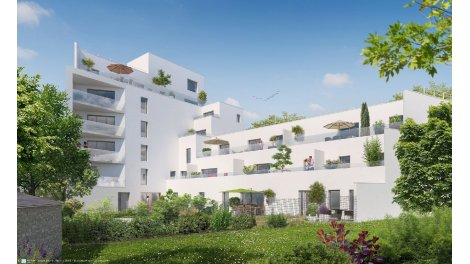 Appartement neuf Butterfly investissement loi Pinel à Rennes