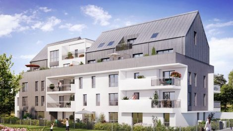Appartement neuf Tribeca Tranche 2 investissement loi Pinel à Rennes