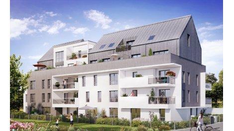 Appartement neuf Tribeca Tranche 2 investissement loi Pinel à Rennes