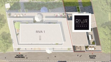 Appartement neuf Riva 2 investissement loi Pinel à Rennes