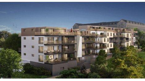 Appartement neuf Résidence Chavagnes éco-habitat à Nantes