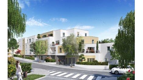 Appartements et maisons neuves Erdre et Sens éco-habitat à Nantes