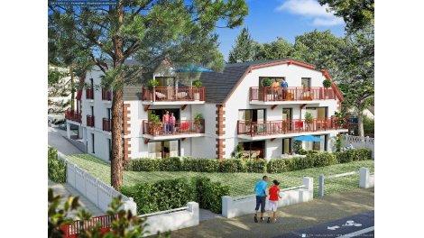 Appartement neuf Villa Bonne Source investissement loi Pinel à Pornichet