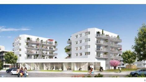 Appartement neuf Horizon Bianco éco-habitat à Nantes