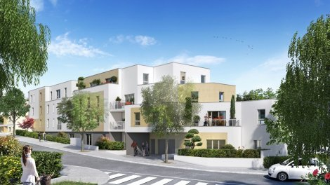 Appartements et maisons neuves Erdre et Sens à Nantes